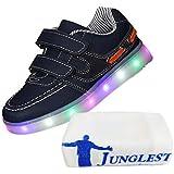 [Present:kleines Handtuch]JUNGLEST 7 Farben LED Kinder, Jungen, Mädchen führte leuchten Trainer Sneakers Turnschuhe Sportschuh