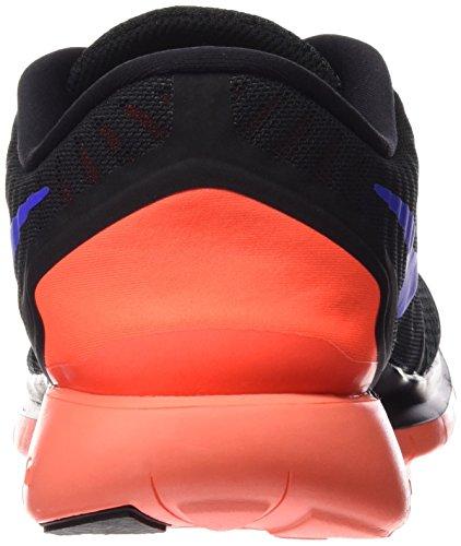 Nike Free 5.0, Chaussures de Running Entrainement Homme Mehrfarbig (Black/Racer Blue/Total Crimson/Dark Grey 015)