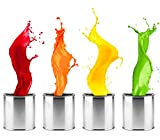 Fliesenlack für Wand Küche & Bad Fliesenfarbe Wandfarbe (Platingrau,1L)