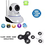#9: Captcha Lenovo Vibe C Compatible Certified HD WiFi Home Security Camera, Wifi Wireless IP Camera, Pan/Tilt Control, with New Fidget Hand Spinner for Fun, Anti-Stress, Focus, ADHD, Anxiety & Autism(1 Year Warranty)