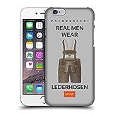 Official Emoji Lederhosen Oktoberfest Hard Back Case for Apple iPhone 6 / 6s