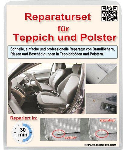 Brandloch Teppich Polster Autositz KFZ Stoff Reparatur Set Smart Repair