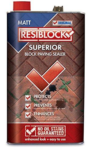 Resiblock Superior Matt, Paving Driveway Sealer 25ltr
