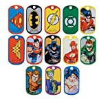 Dc Justice League Dog Tags Set Of 13 Tag...