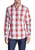 Eddie Bauer Herren Regular Fit Freizeit Hemd 341722, Gr. Large, Rot