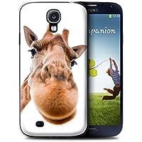 Stuff4 Hülle / Hülle für Samsung Galaxy S4/SIV / Neugierige Giraffe Muster / Lustige Tiere Kollektion