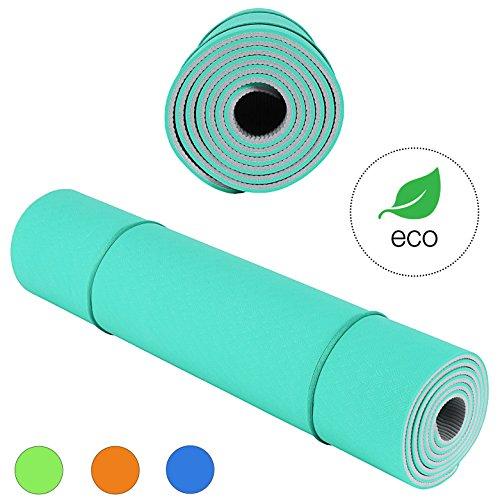 KeenFlex - Colchoneta para Yoga y Ejercicio de alta calidad, antideslizante...