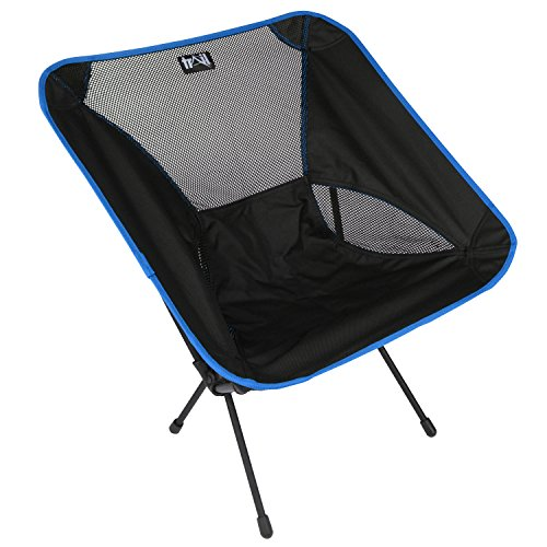 Lightweight Folding Camping Chair Portable Outdoor Hiking Seat Ultra-Light 1.7kg