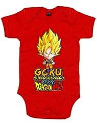 Body bebé Dragon Ball Goku superguerrero baby