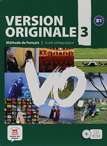 Version Originale: Guide pedagogique CD-ROM 3 por Cidalia Martins