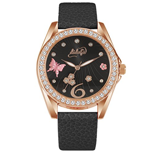 Didofà, Italian Designed Wrist Watch - Women's 3D Water Resistant Wrist Watch ,DF-3019C