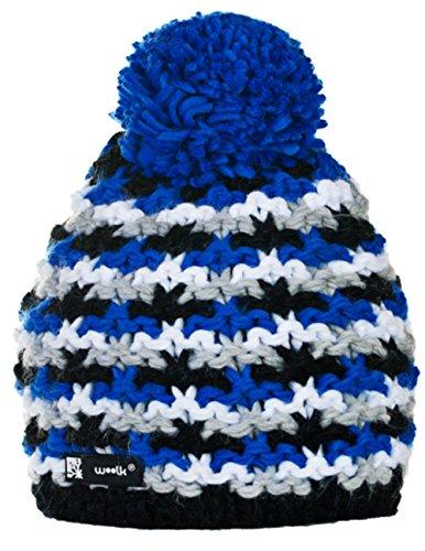 Wollig Wurm Winter NORDIC BATTY Beanie Mütze mit Ponpon Damen Herren HAT HATS Fashion SKI Snowboard Morefazltd (TM) (Batty 33)