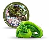 Craze 16107 - Intelligente Superknete, Magic Dough, Dinosaurier Palezoic green, 80 g in Dose, BPA- und glutenfrei