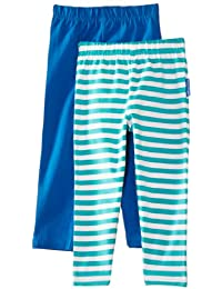 Toby Tiger Girls Organic Pack Striped Set of 2 Leggings