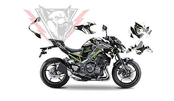 Komplettes Grafik Set Für Kawasaki Z900 Winter Edition 2017 2019 Aufkleber Und Aufkleber Auto