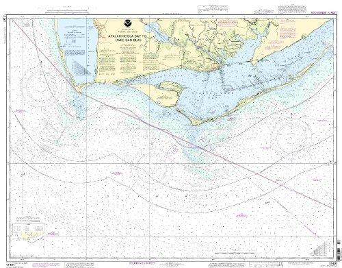 11401--Apalachicola Bay to Cape San Blas by NOAA (Oceangrafix Cape)