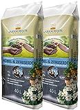 Floragard Kleeschulte Kübel und Zitruserde 2x40 L • für kräftige Blütenbildung • mit Langzeitdünger • 42 % Klimavorteil • 80 L