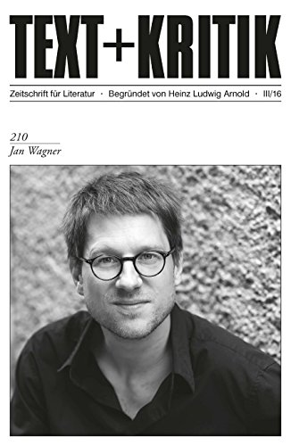 TEXT+KRITIK 210: Jan Wagner