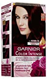 Garnier Color Intense, 2.6 Flammendes Braunrot, Intensive Creme Coloration, 3er Pack