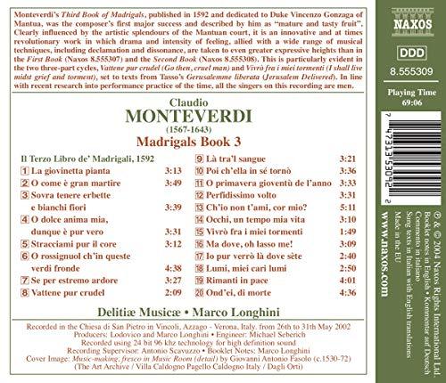 Monteverdi: Madrigals Book 3