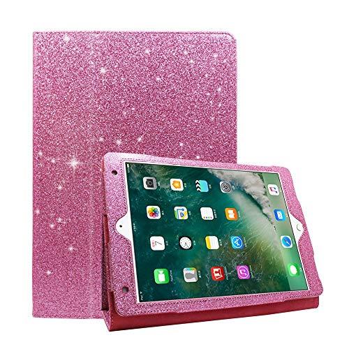 iPad Mini 4 Hülle, Mini 3 / Mini 2 / Mini Glitzer Hülle Hülle Case Cover Glitzer Bling PU Leder Smart Cover [Flip Stand Funktion] Hülle für Apple iPad Mini 1/2/3/4