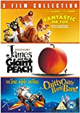 Fantastic Mr Fox / James and the Giant Peach / Chitty Chitty Bang Bang Triple Pack [DVD]