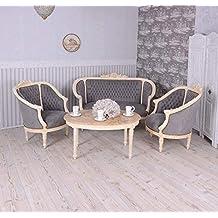 Sofagarnitur Sitzgruppe Barock Sofa Sessel Couchtisch Couchgarnitur Einzelstück