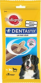 Pedigree Dentastix - Friandises pour Grand Chien - 7 Bâtonnets Hygiène Bucco-dentaire - Lot de 10 sachets (70 sticks)