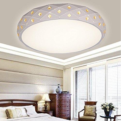 Mission Deckenleuchte (Deckenleuchte Fyios Wohnzimmer Deckenleuchte, Europäischen Stil - Schlafzimmer, Led - Lampe, Moderne Einfache Runde Restaurant, Lampe E40)