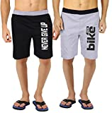 #10: Hotfits men Cotton Self Design Shorts