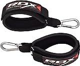 RDX Fußschlaufe Kabelzug Seilzug Ringösen Fußschlaufen Fitness Klettverschluss (Verkauft als Einzelstück)