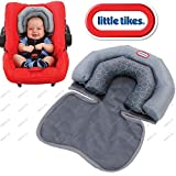 Little Tike® Baby Infant 2 in 1 Soft Head Neck Support Cushion Pillow for Travel, Car Seat, Pushchair, Pram & Baby Carrier etc
