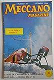 Meccano Magazine N° 39 décembre 1956 - j'ai piloté le mystère IV - A bord de l'automotrice chasse neige - le bateau pompe Major Gabriel - modèle Mécano: chignole - trains hornby, aiguilles diagonales et jonction croisée