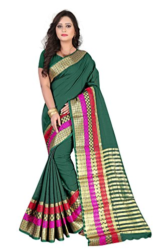 Inheart Womens' Cotton Beautiful Stunning Sarees