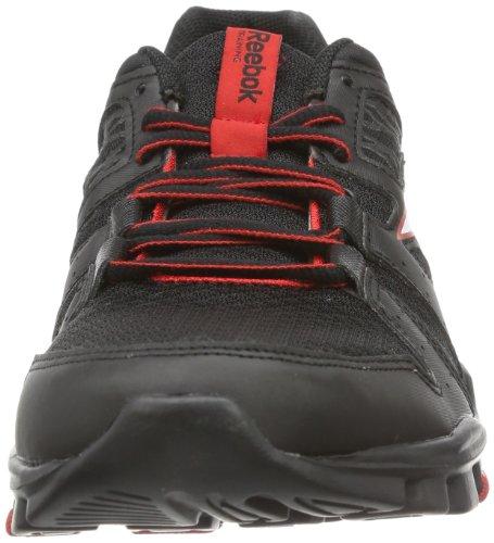 Reebok - Yourflex Train Rs 4.0, Scarpe da corsa Uomo Nero (Schwarz (BLACK/WHITE/RED))