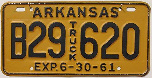 US Nummernschild ARKANSAS Kennzeichen # USA License Plate # Auto - Schild