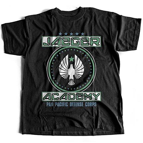 9185 Jaeger Academy Mens T-Shirt Pacific Rim Gipsy Danger Crimson Typhoon Striker Eureka Coyote Tango Cherno Alpha