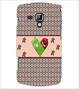 PrintDhaba Heart D-5971 Back Case Cover for SAMSUNG GALAXY S DUOS 2 S7582 (Multi-Coloured)