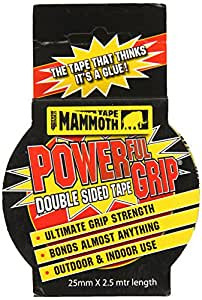 Everbuild 2PG25 25mm x 2.5m Powergrip Double Sided Tape