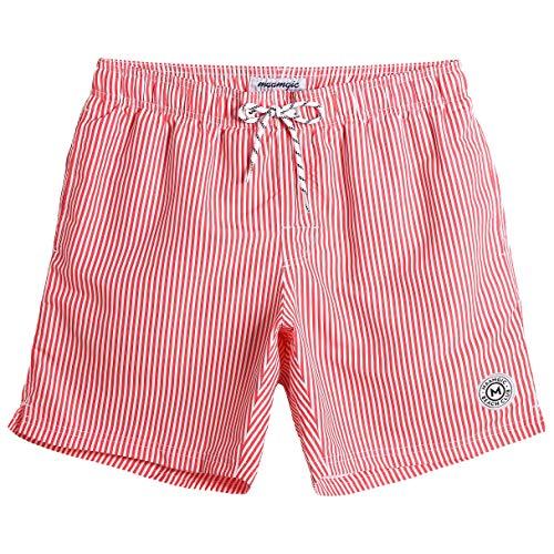 e5fe30f3d073 MaaMgic Bañador para Hombres Troncos de natación Secado Rápido Paneles de  Flamingo Forro de Malla