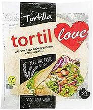 Tortillove Wheat Flour Tortilla Wrap, Long Life, 12 Inch - 1 Pack of 12 Pieces