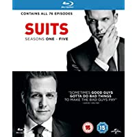 Suits Series 1-5 on Blu-ray