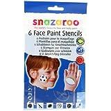 Amscan International Snazaroo Re-Use Stencils Boys