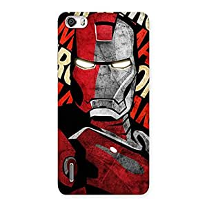 Stylish Introduction Man Back Case Cover for Honor 6