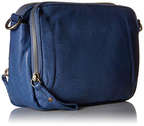 Liebeskind Annett Sac bandoulière cuir 25 cm Blue