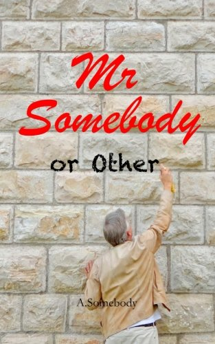 Mr Somebody or Other: A Journey - A Dream - An Idiot. Laugh out loud feel good memoirs of an everyday man who is nobody else's fool. (2)