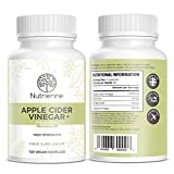 Apple Cider Vinegar - 120 Capsules - 1000mg Daily Dosage - Premium Quality Supplement - 60 Day Supply - Vegan Friendly – Made in The UK by Nutrienne