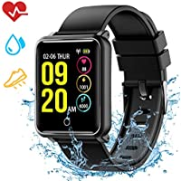 Mpow Smart Watch with Sleep Monitor,Fitness Tracker IP68 Waterproof Level Heart Rate Monitor,Calorie Counter Activity Tracker