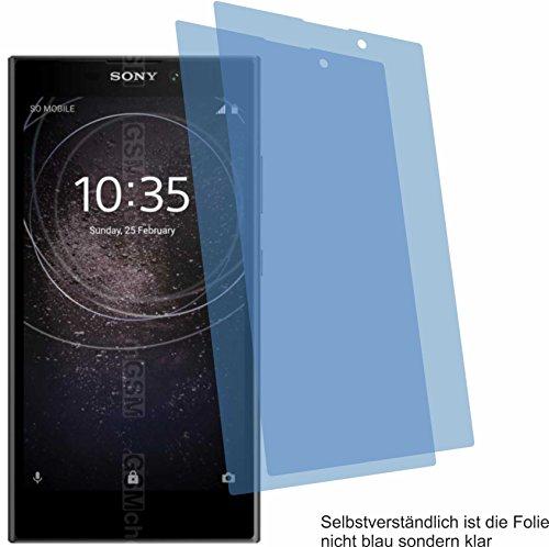 4ProTec 2X Crystal Clear klar Schutzfolie für Sony Xperia L2 Bildschirmschutzfolie Displayschutzfolie Schutzhülle Bildschirmschutz Bildschirmfolie Folie