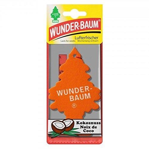 Preisvergleich Produktbild Wunder-Baum Lufterfrischer Duftbaum, Duftnoten:Kokosnuss